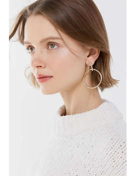 Leni Modern Statement Post Earring by Urban Outfitters