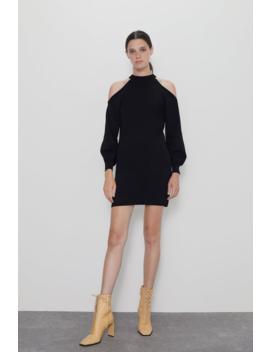 Knit Mini Dress New Inwoman by Zara