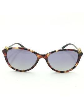 Purple Brown Tortoise Cat Eye Polarized Mod.4251 Sunglasses by Versace