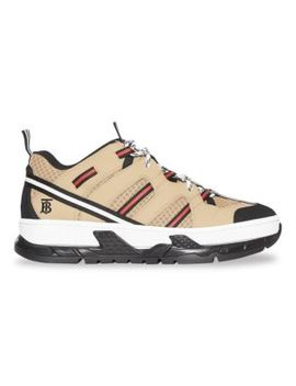 Union Chunky Hiker Trainer Sneakers by Burberry