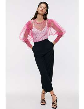 Polka Dot Organza Top New Inwoman by Zara