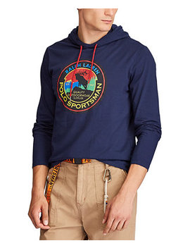 Men's Hooded Jersey Sportsman T Shirt by General