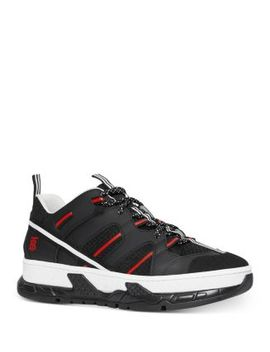 Men's Union Low Top Sneakers by Burberry