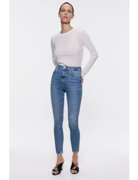 Venice Blue Zw Premium '80 S High Waist Jeans View All Jeans Woman by Zara