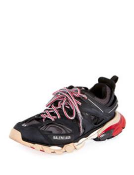 Men's Track Colorblock Sneakers by Balenciaga