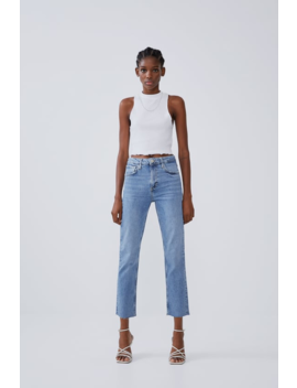 Slim Fit Hi Rise Jeans View All Denim Woman Cornershops by Zara
