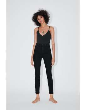 Hi Rise Super Stretch Jeggings Jeggings Jeans Trf by Zara