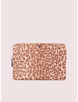 Taylor Leopard Universal Laptop Sleeve by Kate Spade