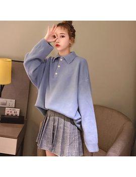 Bolifon   Long Sleeve Knit Polo Shirt by Bolifon