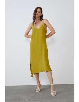 Flowy Dress New Intrf by Zara