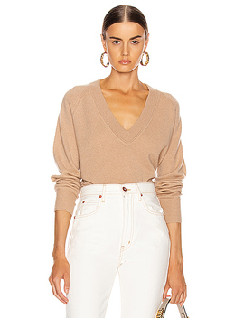 Madalene V Neck Sweater by Equipment