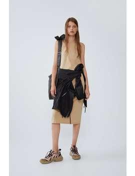 Strappy Dress Midi Dresses Woman by Zara
