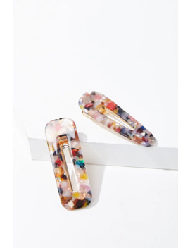 Marble Barrettes Set by Forever 21