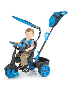 Little Tikes 4 In 1 Deluxe Edition Trike, Neon Blue by Little Tikes