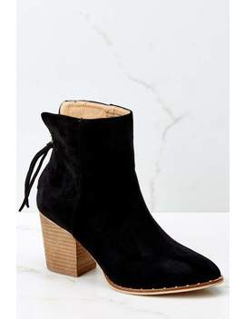 Taking These With Me Black High Heel Ankle Boots by Beast Fashion