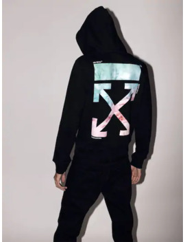 Lvr Exclusive Printed Cotton Hoodie by Off White