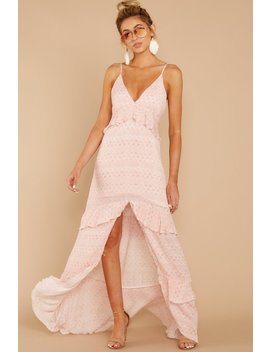 Find Your Truth Light Pink Maxi Dress by Cotton Candy
