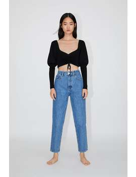 Mom Fit Jeans View All Jeans Woman by Zara
