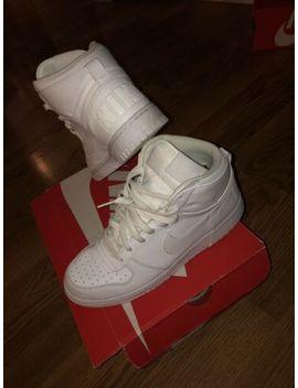 Nike Dunk High White by Nike