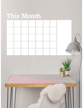 Monthly Schedule Note Wall Sticker by Romwe