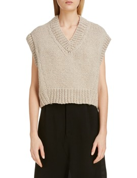 V Neck Sweater Vest by Maison Margiela