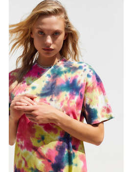 Uo Tai Tie Dye T Shirt Dress by Urban Outfitters