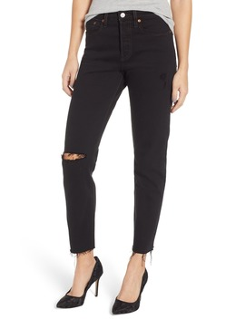 Wedgie Icon Fit High Waist Ripped Skinny Jeans by Levi's®