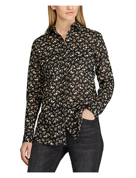 Floral Print Cotton Voile Shirt by General