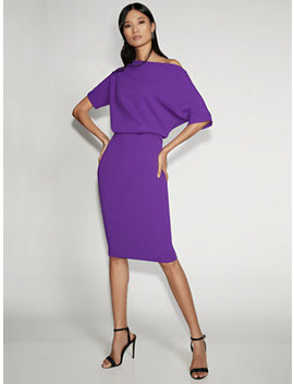 Purple Sheath Dress   Gabrielle Union Collection by New York & Company