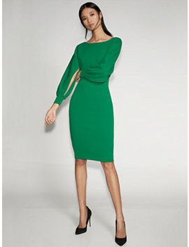Slit Sleeve Sheath Dress   Gabrielle Union Collection by New York & Company