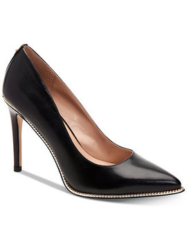 Harleigh Chain Pointy Toe Pumps by General