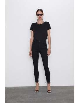 Jeans Zw Premium High Waist Revolve Black Ver Tudo Jeans Mulher by Zara