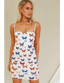 Current Surrounds Velvet Mini Dress // Butterfly by Vergegirl