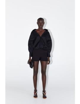 Ruffled Hem Shorts View All Shorts Woman by Zara