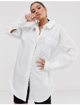 Public Desire X Lissy Roddy Oversized Shirt Dress by Public Desire