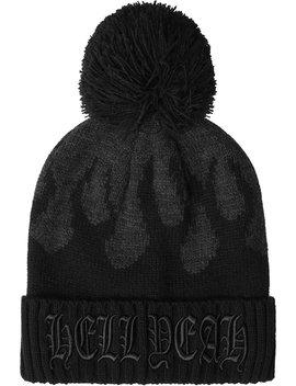Black Souls Bobble Hat by Killstar