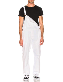 Trade Overalls In White by Rolla's