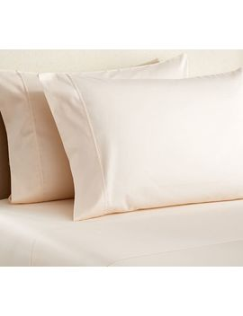 Pb Essential 300 Thread Count Pillowcases   Ivory by Pottery Barn