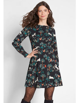 Magical Moments Fit And Flare Dress by Modcloth