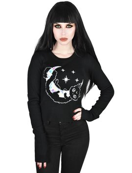 Salem Ribbed Sweater by Killstar