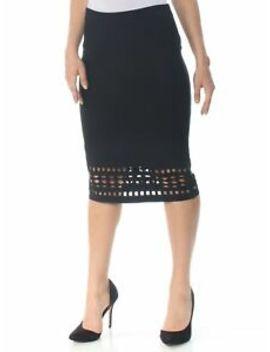 Rachel Roy $99 Womens New 1010 Black Cutout Sweater Pencil Skirt L B+B by Rachel Roy