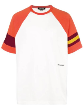 Stripe Detail Raglan T Shirt by Calvin Klein 205 W39nyc
