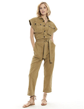 Trek Jumpsuit by New York & Company
