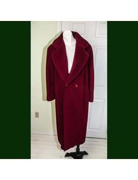 Vintage 1980s Missoni Oversized Men's Style Zig Zag Coat by Etsy