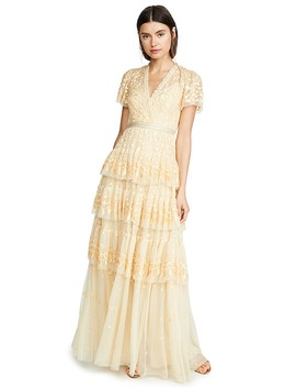 Angelica Lace Gown by Needle &Amp; Thread