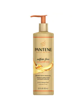 Pantene Gold Series Sulfate Free Shampoo 252ml by Superdrug