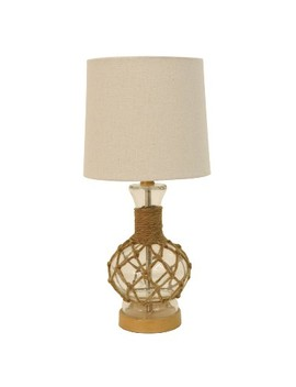 Justin Coastal Rope Lamp Clear (Lamp Only)   Decor Therapy by Decor Therapy
