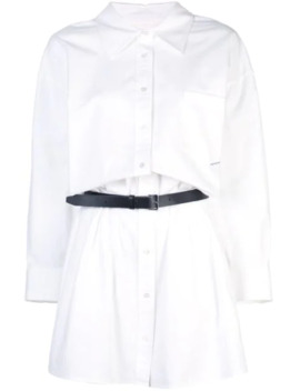 Belted Shirt Dress by Alexander Wang