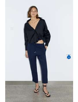 Stretch Waist Trousers View All Trousers Woman by Zara