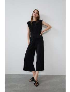 Pleated Trousers View All Trousers Woman by Zara